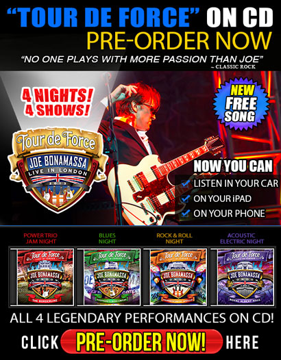 """By Fan Demand! Pre-Order """"Tour De Force"""" Now On CD! Buy One, Buy All! Now you can listen in your car, on your iPod, on your phone...! Click here to pre-order now."""