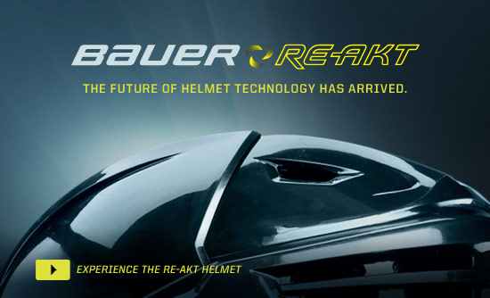 Bauer Re-Akt - The Future of Helmet Technology Has Arrived