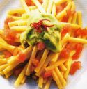Pasta with Avocado and Burren Smoked Salmon