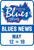 Keeping The Blues Alive brings you Blues News. Week of May 12th to 18th