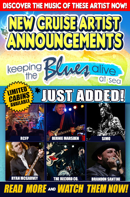 Keeping The Blues Alive At Sea. Payment Plans Available. Starring Joe Bonamassa, John Hiatt, Robben Ford, Robert Randolph & The Family Band, Ana Popovic, Joanne Shaw Taylor, and just added Sept 16th: Rock Candy Funk Party, Bernie Marsden, SIMO, Ryan McGarvey, The Record Company and Brandon Santini. Book now.
