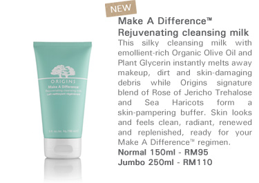 Make A Difference™ Rejuvenating cleansing milk